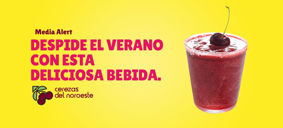 Despide el Verano con esta deliciosa bebida.