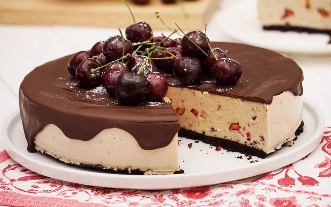 Cheesecake Frío de Cerezas